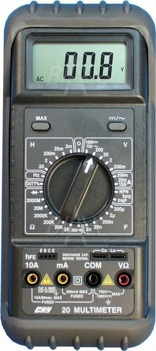 Zdjęcie produktu: CHY20 Multimetr z pomiarem RLC