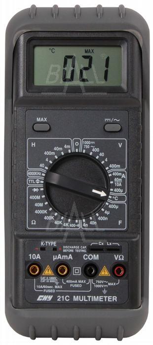 Zdjęcie produktu: CHY21C Mutimetr z pomiarem RLC i temp.