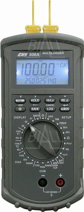 Zdjęcie produktu: CHY506A Termometr  logger/rejestr. 4 kanałowy  kl. 0,05% RS232