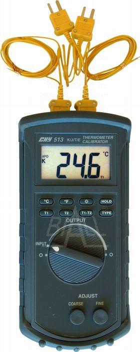 Zdjęcie produktu: CHY513 Termometr kalibrator 2 kanałowy