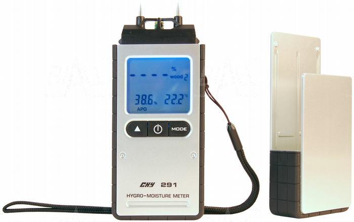 Zdjęcie produktu: CHY291 Miernik wilgotności materiałów budowlanych, drewna i termohigrometr