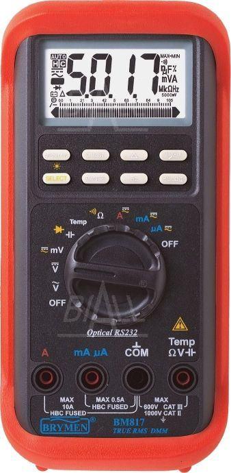 Zdjęcie produktu: BM817s Mutimetr TRMS z pom.temp. RS232  Brymen