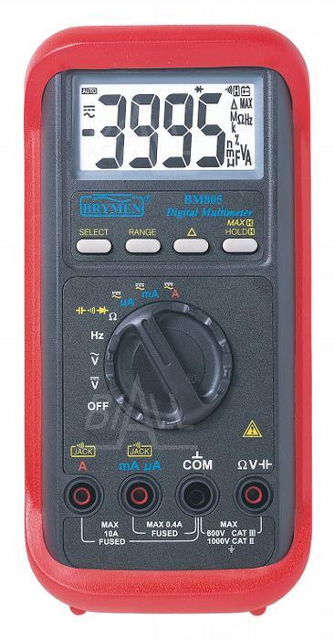 Zdjęcie produktu: BM805s  Multimetr auto 3 3/4cyfry  Brymen