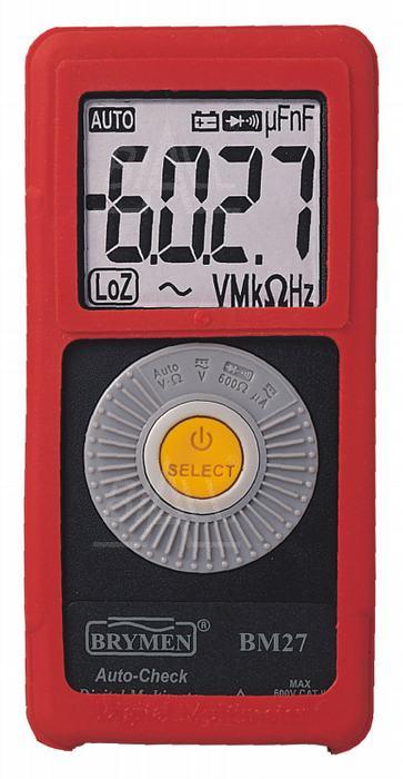 Zdjęcie produktu: BM27s Multimetr kieszonkowy z pom. AC/DC Brymen