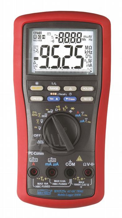 Zdjęcie produktu: BM525s  Multimetr-logger/rejestr. (87000pom),TRMS, USB/RS232C Brymen