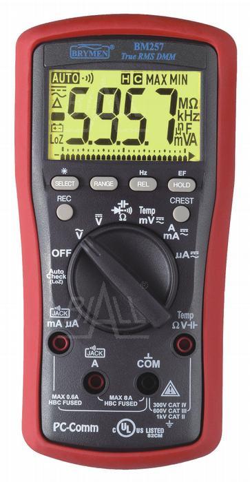 Zdjęcie produktu: BM257s Multimetr TRMS EF,T, RS232/USB  Brymen