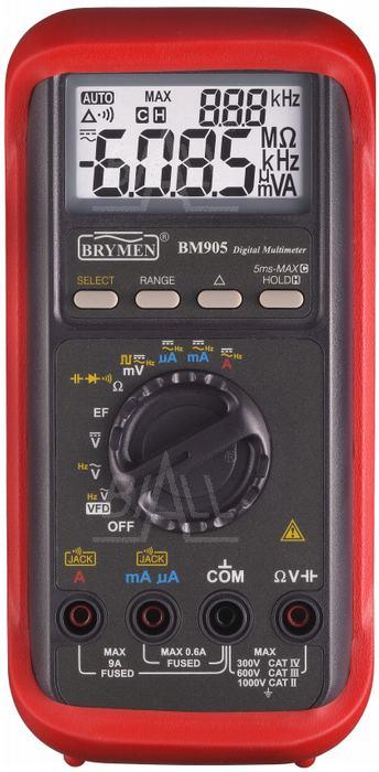 Zdjęcie produktu: BM905s  Multimetr przemysłowy VFD   Brymen