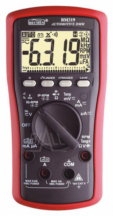 Zdjęcie produktu: BM319S Multimetr diagnostyczny samochodowy Brymen