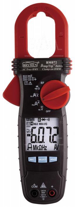 Zdjęcie produktu: BM072 Miernik cęgowy 600A AC TRMS, AmpTip,  Brymen
