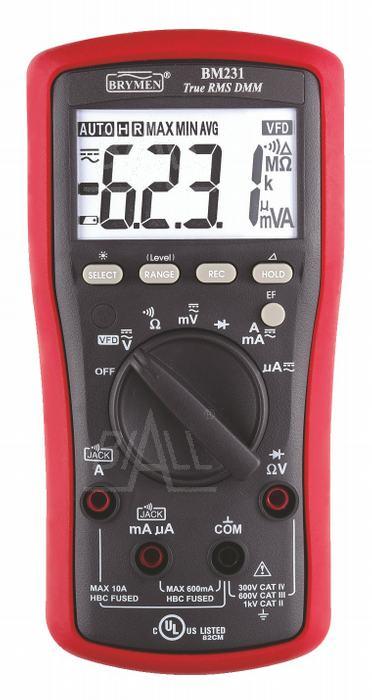 Zdjęcie produktu: BM231 Multimetr TRMS (AC+DC) VFD EF Brymen