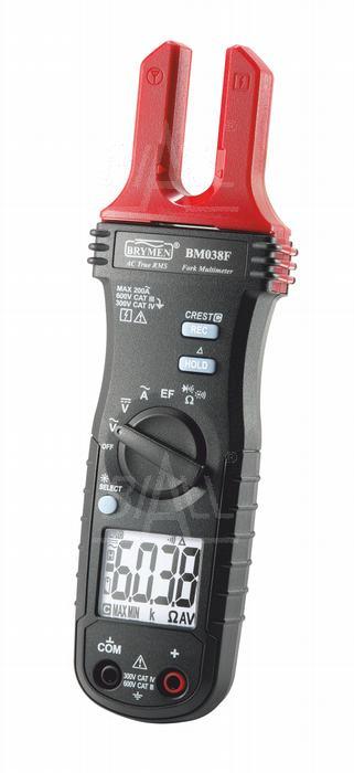 Zdjęcie produktu: BM038F Miernik cęgowy 200A AC TRMS, V AC/DC,R,EF  Brymen