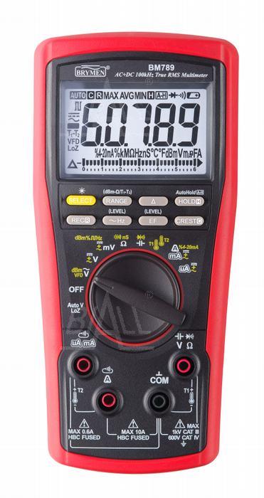 Zdjęcie produktu: BM789 Multimetr AC/DC 100kHz TrueRMS Brymen