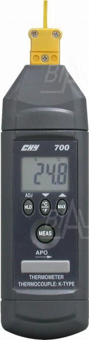 Zdjęcie produktu: CHY700T Termometr prec. -100,+850 C (z sondą K)  CHY