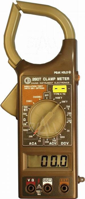 Zdjęcie produktu: CIE260T Miernik cęgowy 0,01A-1000A  AC             CIE