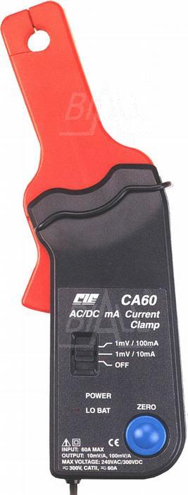 Zdjęcie produktu: CIE CA60 Przystawka cęgowa 60A AC/DC  pasmo AC 40kHz