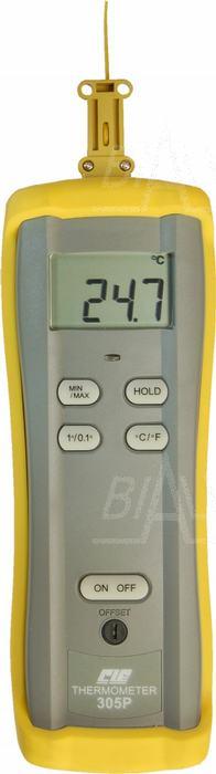 Zdjęcie produktu: CIE305P Termometr prec. 1 kanał  (z sondą K)
