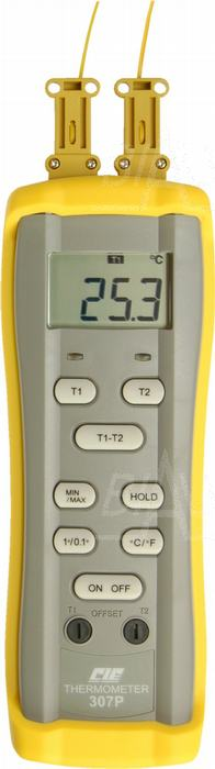 Zdjęcie produktu: CIE307P Termometr prec. 2 kan. (2 sondy K)