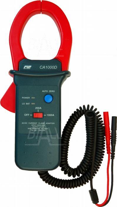Zdjęcie produktu: CIE CA1000D Przystawka cęg. 1000A AC/DC pasmo AC 400Hz