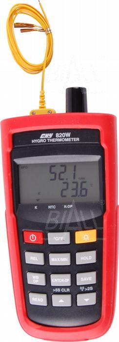 Zdjęcie produktu: CHY820W Termohigrometr 5c + odczyt zdalny USB