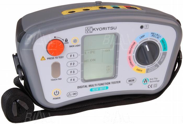 Zdjęcie produktu: KEW6016 Wielofunkcyjny miernik instalacji elektr.   Kyoritsu