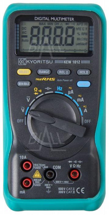Zdjęcie produktu: KEW1012 Multimetr z pomiarem TRMS          Kyoritsu