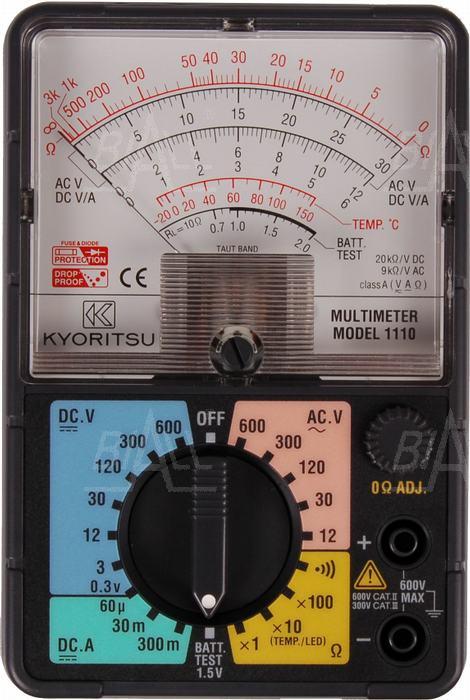 Zdjęcie produktu: KEW1110 Multimetr analogowy    Kyoritsu