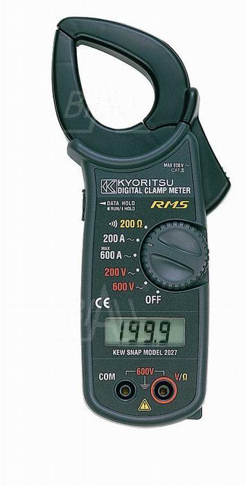 Zdjęcie produktu: KEW2027 Miernik cęgowy 600A AC TRMS  Kyoritsu
