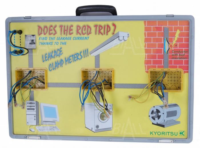 Zdjęcie produktu: KEW8208 Panel demonstracyjny prądy upływu  Kyoritsu