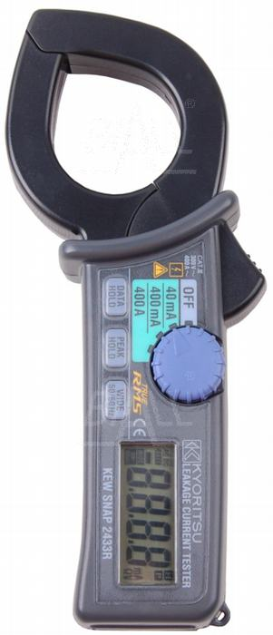 Zdjęcie produktu: KEW2433R Miernik cęgowy prądu upływu 0,01mA-400A TRMS