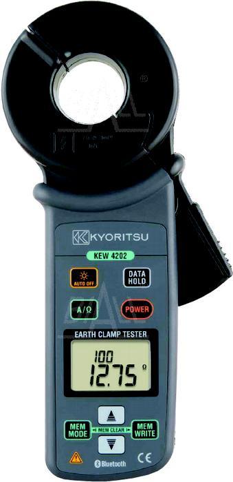Zdjęcie produktu: KEW4202 Cęgowy miern.rezyst.uziem. z Bluetooth Kyoritsu