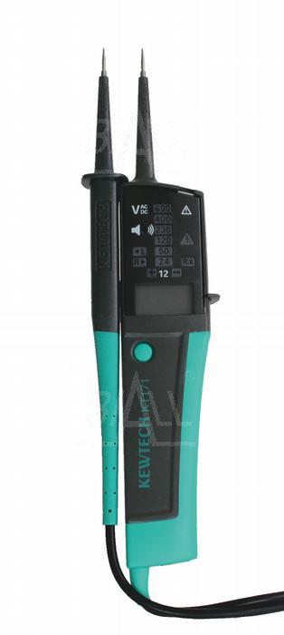 Zdjęcie produktu: KT171 Tester elektryka 6-690V LCD KEWTECH znak bezpieczeństwa B