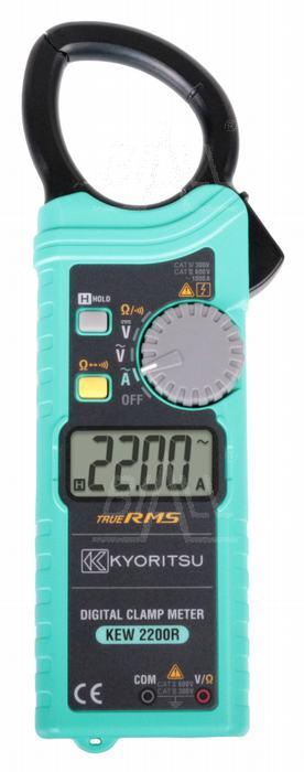 Zdjęcie produktu: KEW2200R Miernik TRMS z cewką Rogowskiego 0,01~1000A AC Kyoritsu