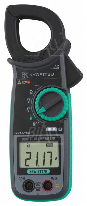 Zdjęcie produktu: KEW2117R Miernik cęgowy 1000A AC TRMS