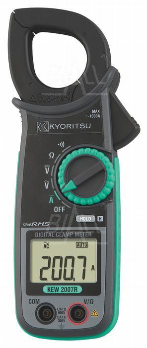 Zdjęcie produktu: KEW2007R Miernik cęgowy 1000A AC TRMS Kyoritsu