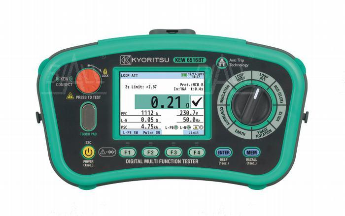 Zdjęcie produktu: KEW6516BT Wielofunkcyjny miernik instalacji elektrycznej