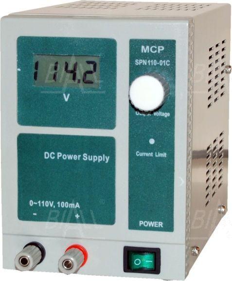 Zdjęcie produktu: Zasilacz lab wysokonapięciowy SPN110-01C 110V/100mA DC  MCP