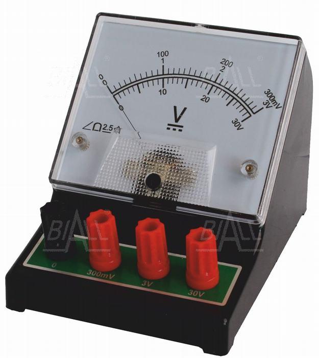 Zdjęcie produktu: Woltomierz analog. szkolny DCV-2 300mV-3V-30V DC