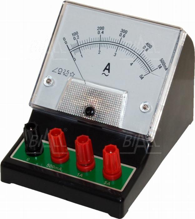 Zdjęcie produktu: Amperomierz analog. szkolny ACA-1 500mA-1A-5A AC