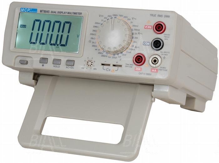 Zdjęcie produktu: MT8045 Multimetr stacjonarny  4 1/2 cyfry dokł. 0,05% TRMS MCP