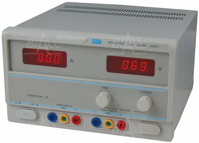 Zdjęcie produktu: Zasilacz lab wysokonapięciowy M10-HP300 300V/1A DC  MCP