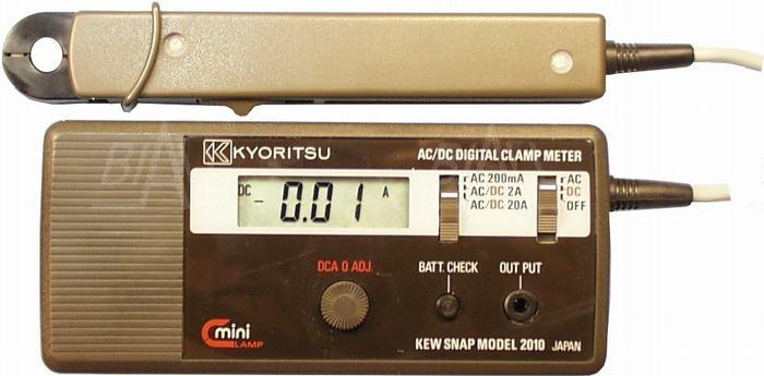 Zdjęcie produktu: KEW2010 Miernik cęgowy 0.1mA-20A  AC/DC Kyoritsu