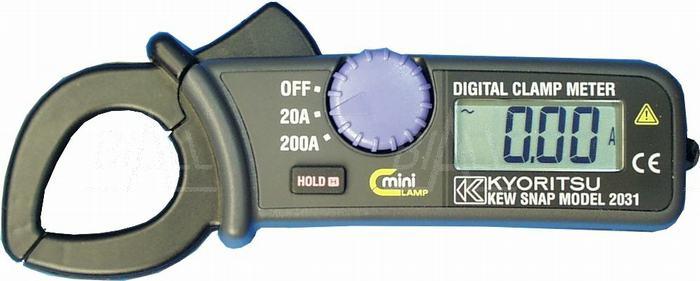 Zdjęcie produktu: KEW2031 Miernik cęgowy 0,01-200A AC    Kyoritsu