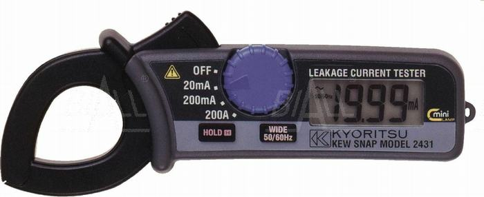 Zdjęcie produktu: KEW2431 Miernik cęgowy prądu upływu 0,01mA-200A