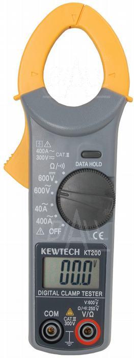 Zdjęcie produktu: KT200 Miernik cęgowy  0,01-400A AC   KewTech