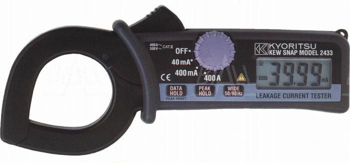 Zdjęcie produktu: KEW2433 Miernik cęgowy prądu upływu 0,01mA-400A