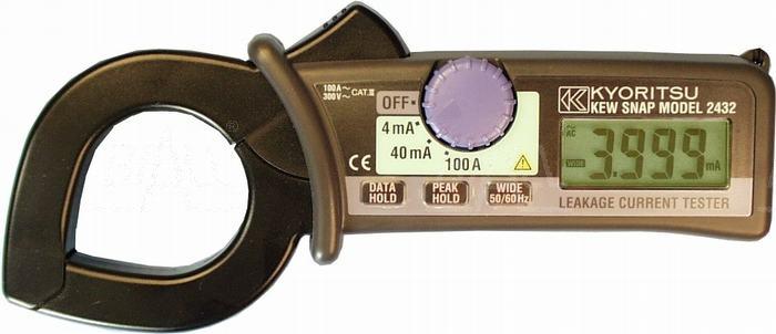 Zdjęcie produktu: KEW2432 Miernik cęgowy prądu upływu 0,001mA-100A