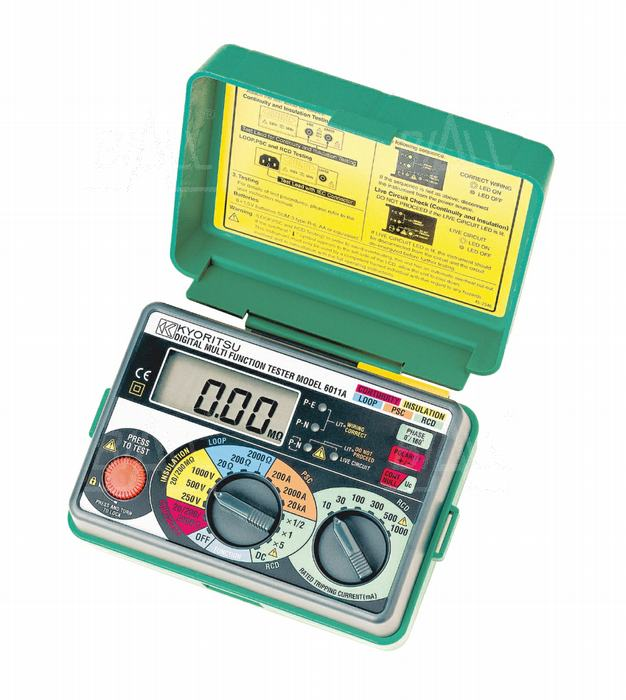 Zdjęcie produktu: KEW6011A (KPL) Wielofunkcyjny miernik instalacji elektrycznej