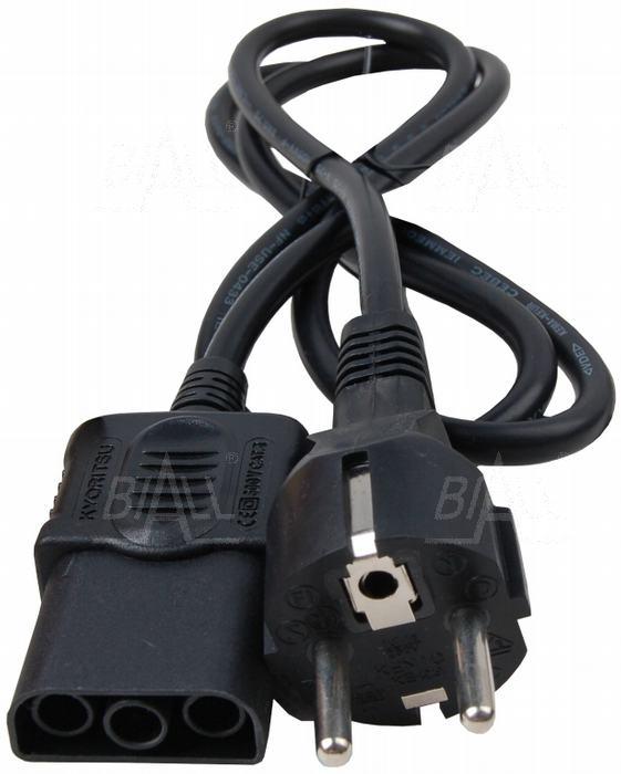 Zdjęcie produktu: KEW7125 Przewód pomiarowy standard (Schuko) KEW5406A/KEW6050/KEW4118A