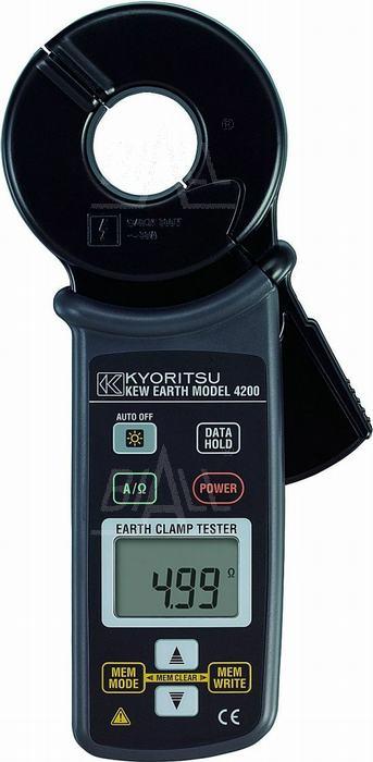 Zdjęcie produktu: KEW4200 Cęgowy miernik rezyst. uziemienia  Kyoritsu