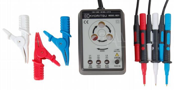 Zdjęcie produktu: KEW8031 Tester kolejności / identyfikacji faz